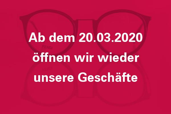 Infografik - Heiliger Optik & Akustik Aachen hat ab dem 20.03.2020 wieder offen