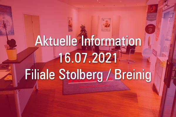 Information Filiale Heiliger Akustik Stolberg / Breinig
